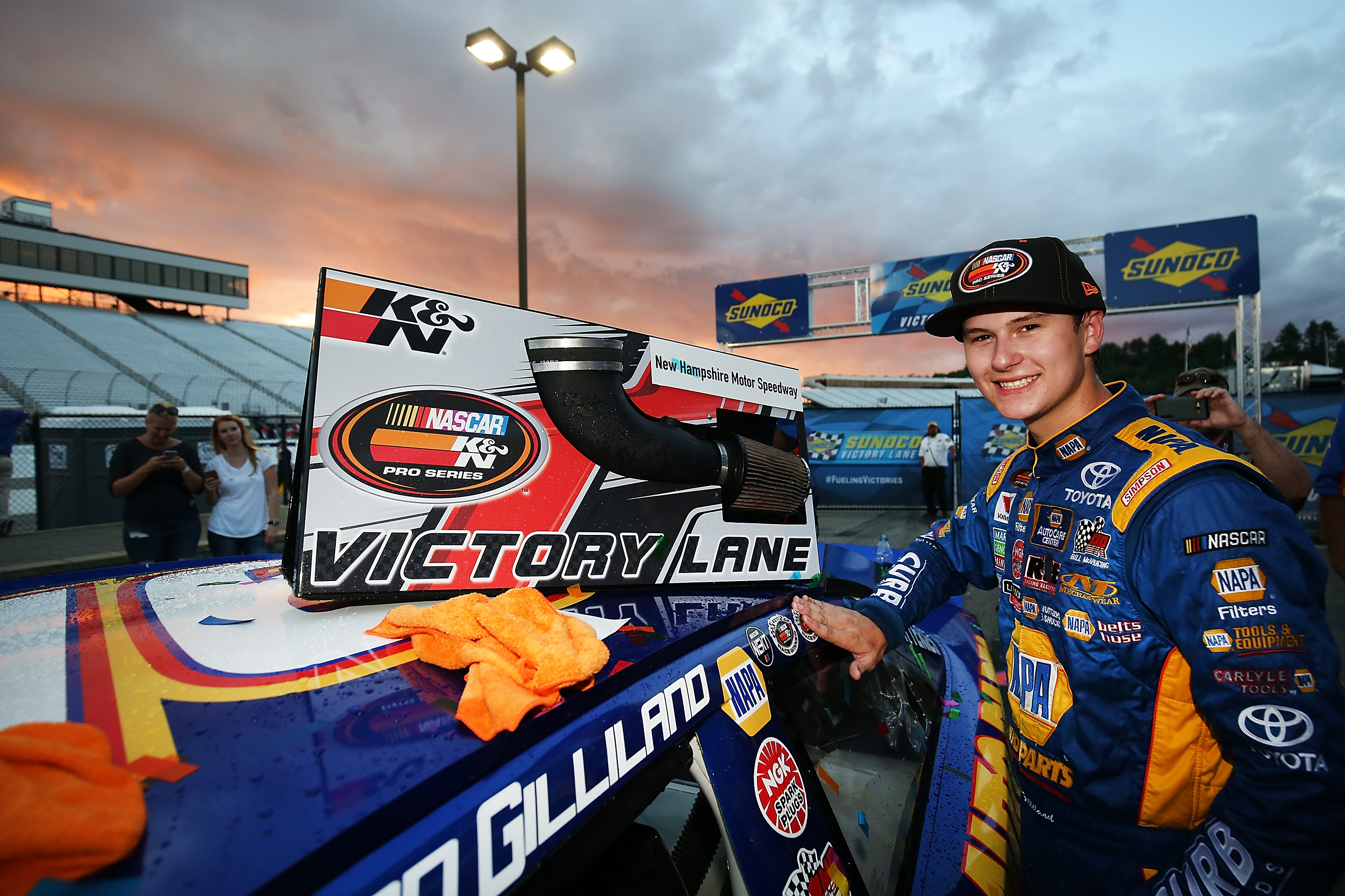 Todd Gilliland Captures Second Win of K&N Pro Series East Season with Win at the Magic Mile